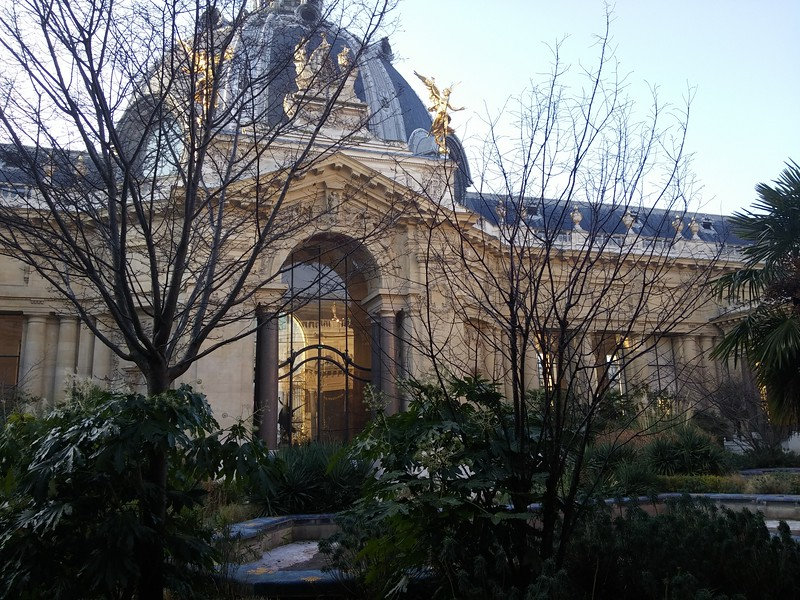 Petit Palace, Paris, January