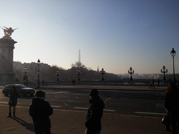 Paris, January