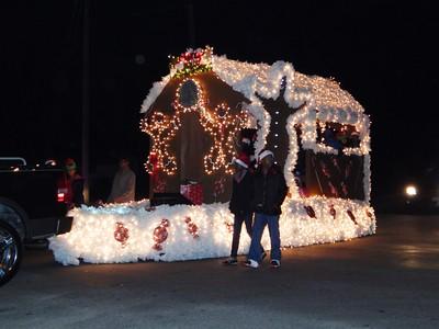 Jasper Christmas Parade 2014