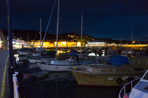 Jersey, Night, St. Aubins