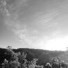 Campground sunrise<br /> 4424bw