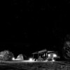 Campground at Night<br /> 4392bw