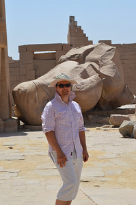 30610_Luxor_Mike at Ramesseum temple
