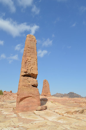 20040_Petra_Two Obelisks