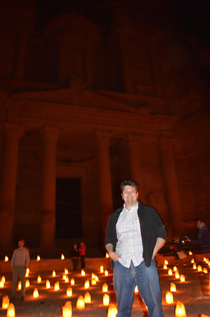 0241__Mike at Petra By Night