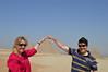 30030_Giza_AB and Mike at 3 Pyramids