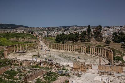 Jerash │ Oval Plaza