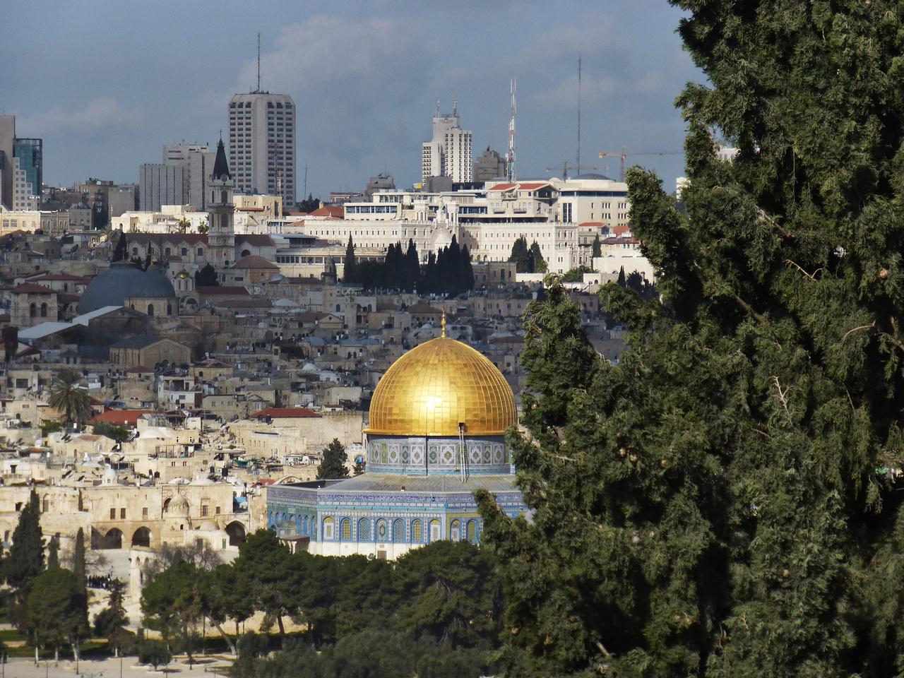 Klippdomen i Jerusalem