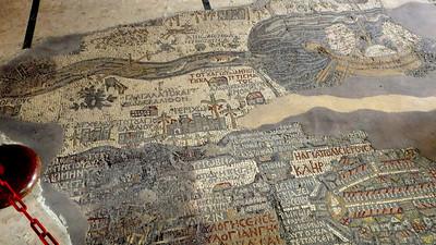 Mosaik-karta i Madaba