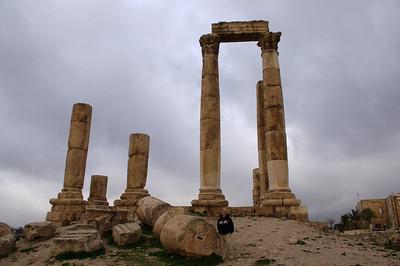 Hercules tempel i Amman