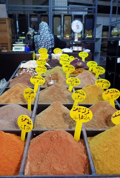 Kryddmarknad i Amman