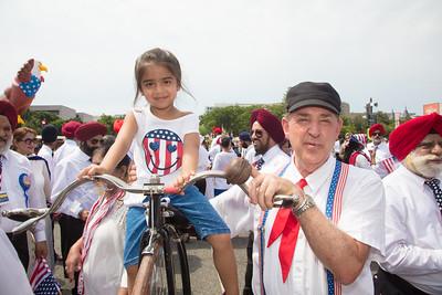 Harnaaz Arnesja, age 5 yrs, (Baltimore. Md.) with Ed Lee (Chesapeake Va.)