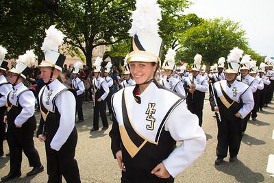 Northeast Jones H.S. Tiger Pride Marching Band, Laurel, Miss.