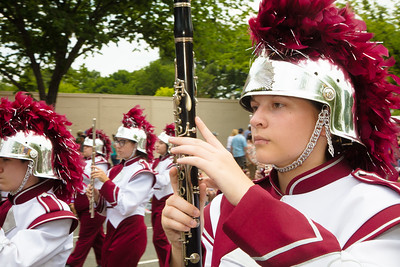 White County H.S. Warrior Marching Band, Sparta, Tenn.