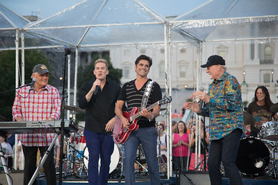 Beach Boys, John Stamos, A Capitol Fourth, Mike Love, Mark McGrath