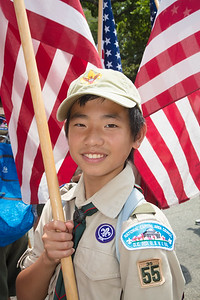 Leo Chen (age 13) of Troop 55 (Great Falls, Va.)