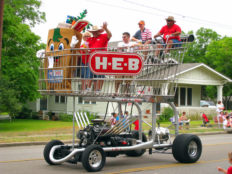 H-E-B <br /> Shopping cart hot rod