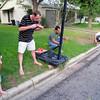 Anson, Josh, Clint, Kylie, Watermelon