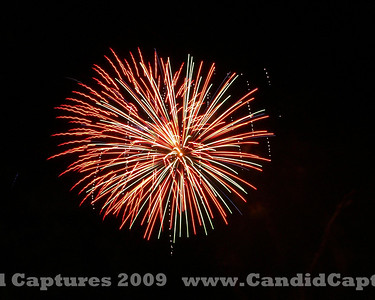 """""""July 4th 2009"""" fireworks Colorado """"Grand Junction"""""""