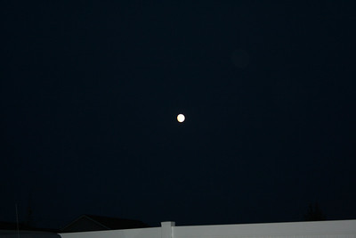 It was a full moon on July 4th.