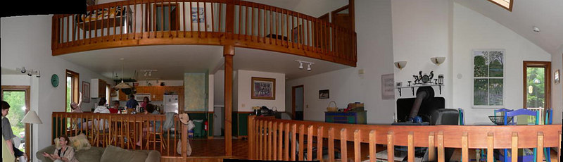 Panoram inside Sara & David's house