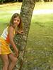 Bonnie climbs a tree