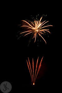 Fireworks at Jimmy Lewis', London, KY - 2010