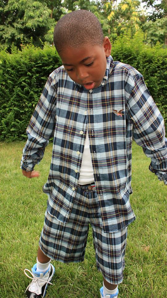 Jaden getting his boogie on.