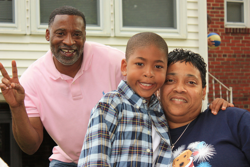 Kevin, Jaden, Aunt Landa