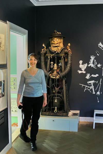Lotte på Storm P Museet