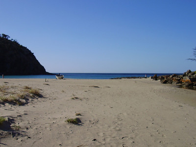 Beach at Western River Cove