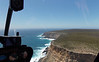 Cape Borda can just be seen on the horison