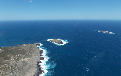 Admirals arch and the Casuarina Islets (The Brothers)