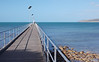 The pier provides an opportunity to catch the Kangaroo Island the King George Whiting