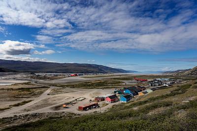 Kangerlussuaq, Køkkenfjeldet, Air Greenland.
