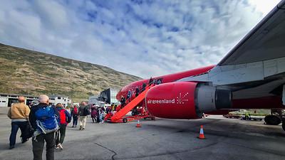 Air greenland, Kangerlussuaq Airport