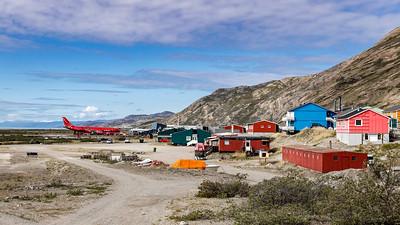 Kangerlussuaq, Kangerlussuaq Airport, Air Greenland