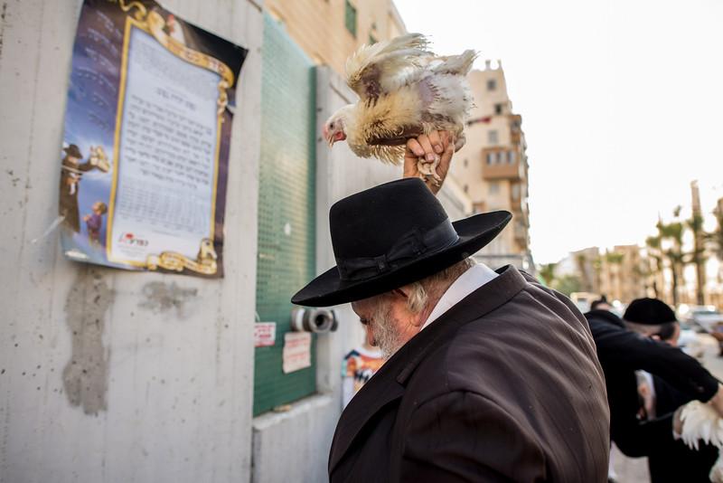 Kapparot, Bnei-Brak 2014-10