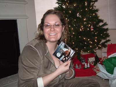 Kate with her Gretchen Wilson CD.