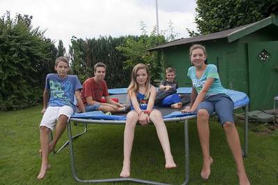 Kids at Janines July 2013