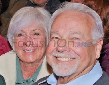 Kathi Jackson, Larry Smith  enjoying the concert.