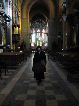 Krakow - Saturday. St Francis Basilica