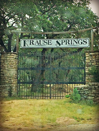 Krause Springs on 4th of July