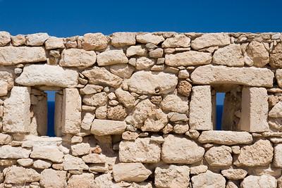 Vakantie Kreta. Dagje Rethymno. Bezoek aan het Fortezza.