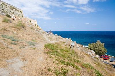 Vakantie Kreta. Dagje Rethymno. Wandeling door het oude centrum.