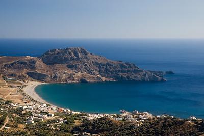 Vakantie Kreta. Onderweg van Prevelli Beach terug naar Adele.