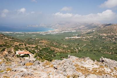 Vakantie Kreta. Onderweg van Adele naar Elafonisi Beach.