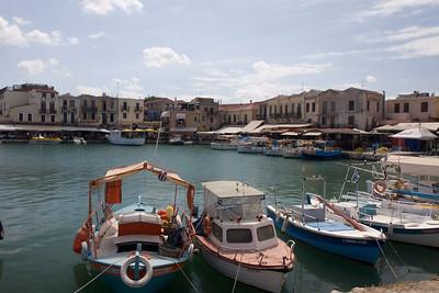 Vakantie Kreta. Dagje Rethymno. Venetiaanse haven.