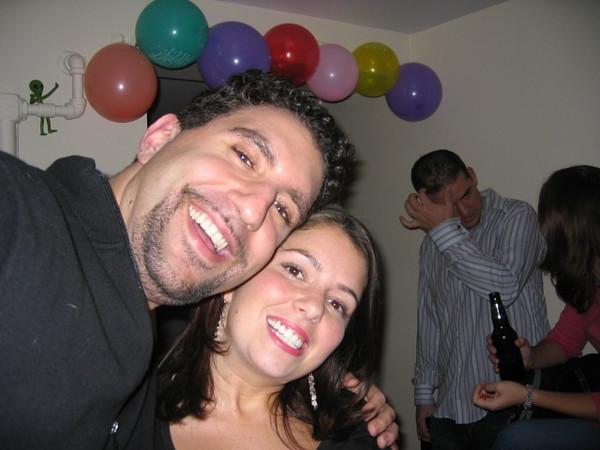 Barak and I