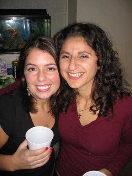 Stefania and I
